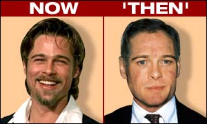 [ image: Brad Pitt: Growing old gracefully]