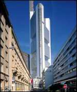 [ image: The Commerzbank uses natural ventilation for 60% of the year]