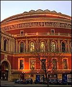 [ image: Royal Albert Hall: The concerts will start here in September]