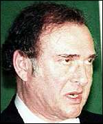 [ image: Mr Pinter is working on a TV programme about the Kosovo conflict]