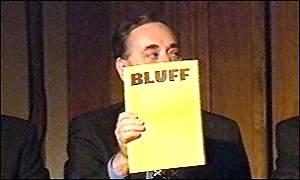 Alex Salmond calls BLUFF