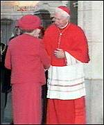 The Queen and the Cardinal
