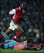 [ image: Anelka scores as Arsenal pull clear at the top]