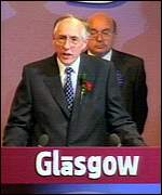 [ image: Donald Dewar: Looking to a new Scotland]