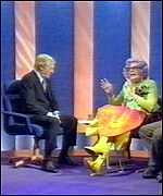 [ image: Dame Edna Everage was a guest on Parkinson's recent series]