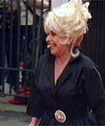 [ image: Barbara Windsor, star of EastEnders, arrives at the Baftas]