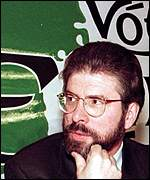 [ image: Gerry Adams and Martin McGuinness have long been political allies]