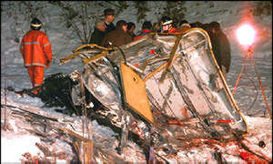 BBC News | Americas | Cable car disaster pilot jailed
