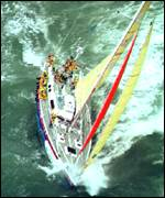 [ image: Real team work - this round the world yacht was called Global Teamwork]