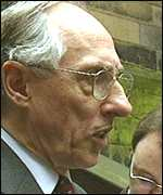 [ image: Donald Dewar: Seeking a coalition to govern]