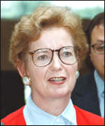 [ image: Mary Robinson was visiting Nis]