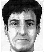 [ image: An E-fit of the suspect]