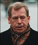 [ image: President Havel said Temelin was a Tower of Babel]