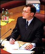[ image: ... closely followed by Sergei Kiriyenko, who lasted until August 1998]