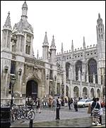 [ image: Cambridge University, where Tomlinson got a first]
