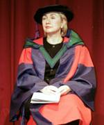 [ image: Hillary Clinton receives an honorary degree in Galway]