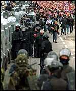 [ image: The RUC mounts a massive security operation during the marching season]