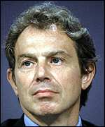 [ image: Tony Blair: Praise for US leadership]