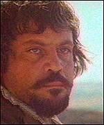 Oliver Reed died while filming