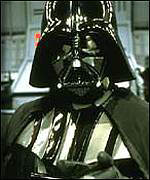 [ image: Celluloid enemy: Darth Vader]