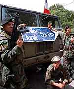 [ image: Serb troops pull out of Kosovo]
