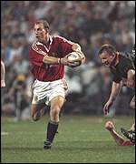 [ image: Dallaglio played a vital role in the Lions' success in South Africa]