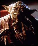 [ image: One of the movie's stars: Yoda]