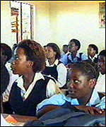 Classroom in South Africa
