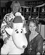 [ image: Launching a Christmas helpline with Chris Tarrant in 1989]