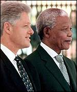 President Mandela and President Clinton