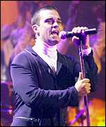 [ image: Robbie Williams: Came top of Company readers' poll]