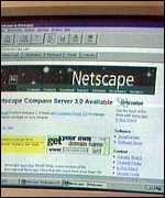Netscape screen
