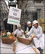 [ image: The Prince of Wales is backing protesters who oppose GM foods]