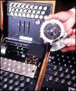[ image: Enigma decryption teams worked round the clock, in top secrecy]