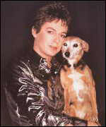 [ image: Julian Clary with Fanny]