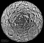 [ image: The Moon's south pole region]