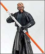 [ image: Darth Maul figure: Part of the billion dollar marketing push]