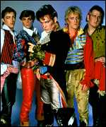 [ image: New Romantic flamboyance with Adam and the Ants]