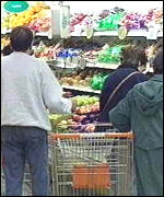 [ image: Shoppers have voted with their trolleys]