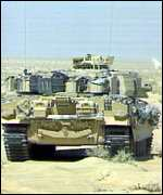 DU was used during the Gulf War