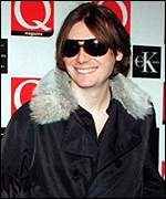 [ image: All smiles: Nicky Wire of the Manic Street Preachers came second]