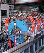 The cyclotron in which the new elements were created