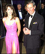 Liz Hurley and Prince Charles