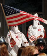 [ image: Support for the American Klan in waning]