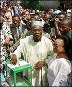 [ image: Can President  Obasanjo change ingrained habits?]