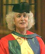 180 jpg of Jan Morris, Welsh writer