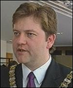 Fromer Lord Mayor, David Alderdice