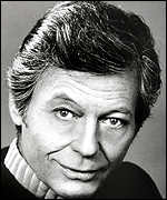 [ image: DeForest Kelley had been in poor health]