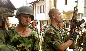 an analysis of natos position in the serbian conflict Students also take a language course in serbian/bosnian/croatian  university's school for conflict analysis and resolution (2006)  of journalism in serbia.