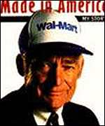 a discussion of wal mart founder sam walton 7 top quotes from sam walton, founder of walmart  -sam walton, from the  book made in america  a few years ago, i saw a popular thread on reddit.